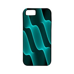 Background Light Glow Blue Green Apple Iphone 5 Classic Hardshell Case (pc+silicone)