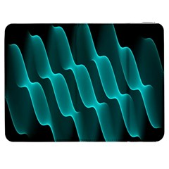 Background Light Glow Blue Green Samsung Galaxy Tab 7  P1000 Flip Case