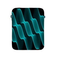 Background Light Glow Blue Green Apple Ipad 2/3/4 Protective Soft Cases