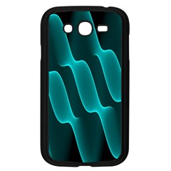 Background Light Glow Blue Green Samsung Galaxy Grand Duos I9082 Case (black)
