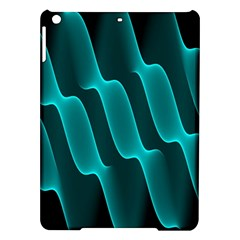 Background Light Glow Blue Green Ipad Air Hardshell Cases