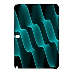 Background Light Glow Blue Green Samsung Galaxy Tab Pro 12 2 Hardshell Case