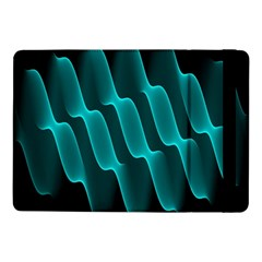 Background Light Glow Blue Green Samsung Galaxy Tab Pro 10 1  Flip Case
