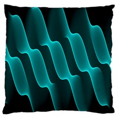Background Light Glow Blue Green Standard Flano Cushion Case (two Sides)