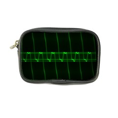 Background Signal Light Glow Green Coin Purse