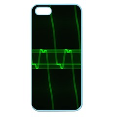 Background Signal Light Glow Green Apple Seamless Iphone 5 Case (color)