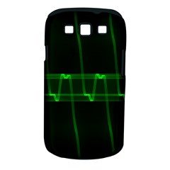 Background Signal Light Glow Green Samsung Galaxy S Iii Classic Hardshell Case (pc+silicone)