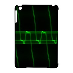Background Signal Light Glow Green Apple Ipad Mini Hardshell Case (compatible With Smart Cover)