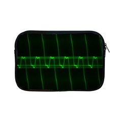 Background Signal Light Glow Green Apple Ipad Mini Zipper Cases