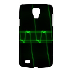 Background Signal Light Glow Green Galaxy S4 Active
