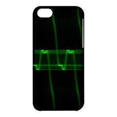 Background Signal Light Glow Green Apple Iphone 5c Hardshell Case