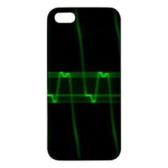 Background Signal Light Glow Green Iphone 5s/ Se Premium Hardshell Case