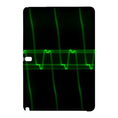 Background Signal Light Glow Green Samsung Galaxy Tab Pro 10 1 Hardshell Case