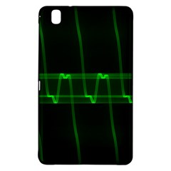 Background Signal Light Glow Green Samsung Galaxy Tab Pro 8 4 Hardshell Case