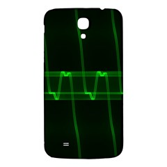 Background Signal Light Glow Green Samsung Galaxy Mega I9200 Hardshell Back Case