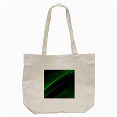 Background Light Glow Green Tote Bag (cream)