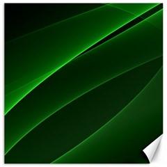Background Light Glow Green Canvas 20  X 20