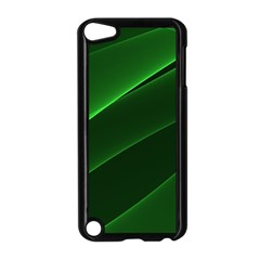 Background Light Glow Green Apple Ipod Touch 5 Case (black)
