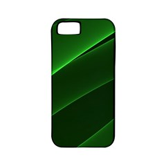 Background Light Glow Green Apple Iphone 5 Classic Hardshell Case (pc+silicone)