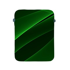 Background Light Glow Green Apple Ipad 2/3/4 Protective Soft Cases