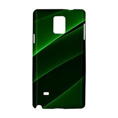 Background Light Glow Green Samsung Galaxy Note 4 Hardshell Case