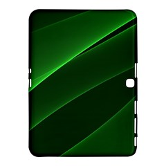 Background Light Glow Green Samsung Galaxy Tab 4 (10 1 ) Hardshell Case