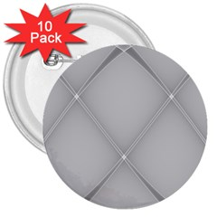 Background Light Glow White Grey 3  Buttons (10 Pack)