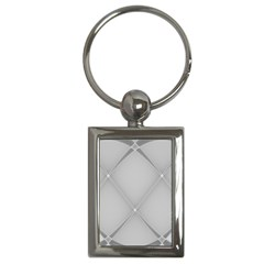 Background Light Glow White Grey Key Chains (rectangle)