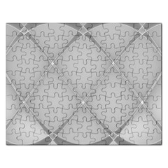 Background Light Glow White Grey Rectangular Jigsaw Puzzl