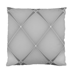 Background Light Glow White Grey Standard Cushion Case (two Sides)