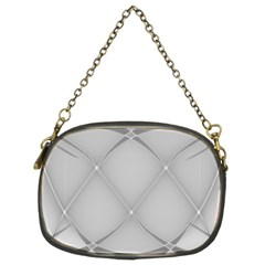 Background Light Glow White Grey Chain Purses (two Sides)