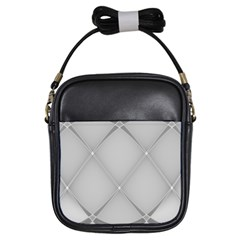 Background Light Glow White Grey Girls Sling Bags