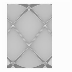 Background Light Glow White Grey Small Garden Flag (two Sides)