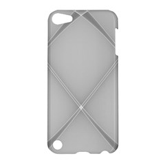 Background Light Glow White Grey Apple Ipod Touch 5 Hardshell Case
