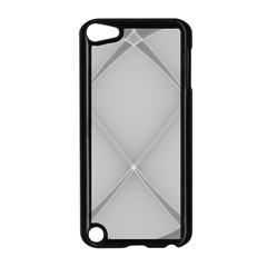 Background Light Glow White Grey Apple Ipod Touch 5 Case (black)