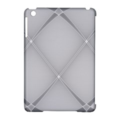 Background Light Glow White Grey Apple Ipad Mini Hardshell Case (compatible With Smart Cover)
