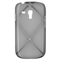 Background Light Glow White Grey Galaxy S3 Mini by Nexatart