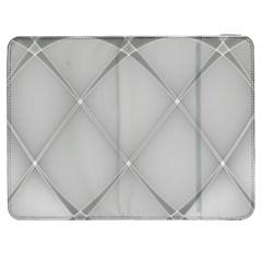 Background Light Glow White Grey Samsung Galaxy Tab 7  P1000 Flip Case