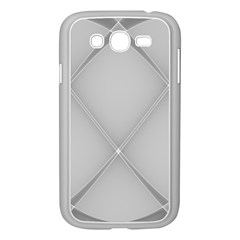 Background Light Glow White Grey Samsung Galaxy Grand Duos I9082 Case (white)