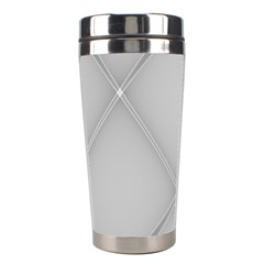 Background Light Glow White Grey Stainless Steel Travel Tumblers