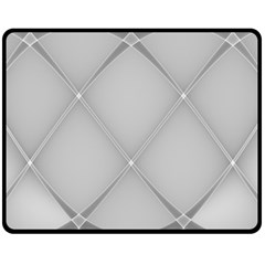 Background Light Glow White Grey Double Sided Fleece Blanket (medium)