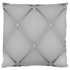 Background Light Glow White Grey Standard Flano Cushion Case (two Sides)