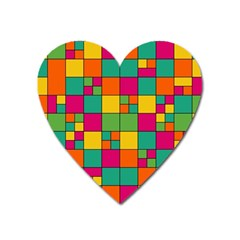Abstract Background Abstract Heart Magnet