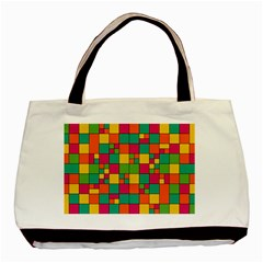 Abstract Background Abstract Basic Tote Bag (two Sides)