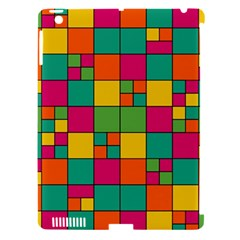 Abstract Background Abstract Apple Ipad 3/4 Hardshell Case (compatible With Smart Cover)