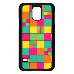 Abstract Background Abstract Samsung Galaxy S5 Case (black)