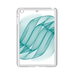 Background Light Glow Blue Ipad Mini 2 Enamel Coated Cases