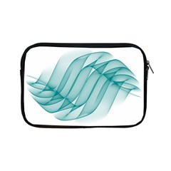 Background Light Glow Blue Apple Ipad Mini Zipper Cases