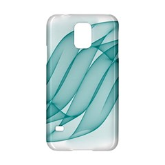 Background Light Glow Blue Samsung Galaxy S5 Hardshell Case