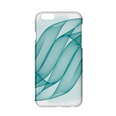 Background Light Glow Blue Apple Iphone 6/6s Hardshell Case